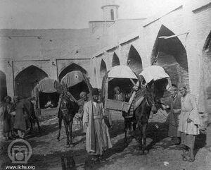 عکس/ تاکسیهای دوره قاجار