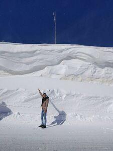 عکس/ بارش 5 متر برف در چهارمحال و بختیاری!