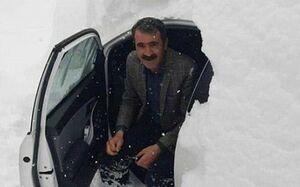 عکس/ بارش برف فوق سنگین در کوهرنگ
