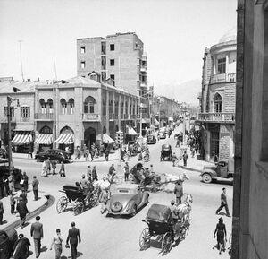 عکس/ خیابان لاله زار، 70 سال قبل!