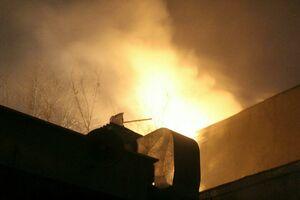 فیلم/ آتش سوزی در بازار تهران