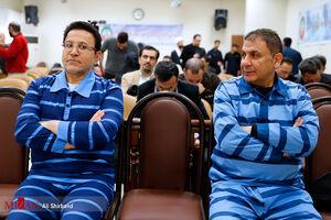 عکس/ دومین جلسه دادگاه حسین هدایتی