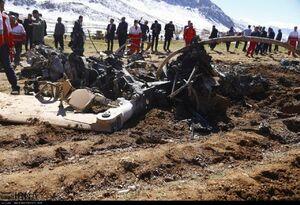 سقوط بالگرد امدادرسانی اورژانس در منطقه سرتشنیز شهرستان کیار