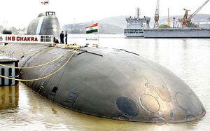 اجاره زیردریایی اتمی توسط هند