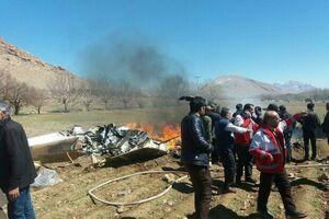اجساد جانباختگان سقوط بالگرد شناسایی شدند+ اسامی