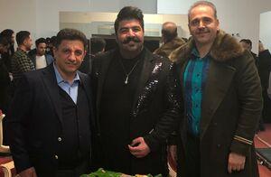 عکس/ امیر قلعه نویی در کنار خواننده معروف