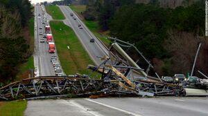 عکس/ طوفان مرگبار  در آلاباما آمریکا