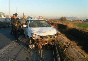 واژگونی مرگبار ساینا در جاده ورامین +عکس