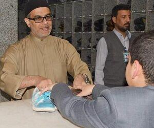 مداح مشهور در کفشداری +عکس