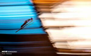 تصاویر دیدنی از مسابقات جهانی اسکی