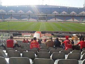 عکس/ حال و هوای ورزشگاه آزادی پیش از بازی پرسپولیس
