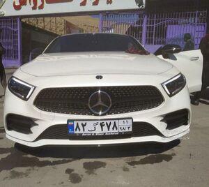 عکس/ ورود جدیدترین محصول مرسدسبنز به ایران!