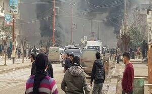 انفجار موتور سیکلت بمبگذاری شده در سوریه +فیلم