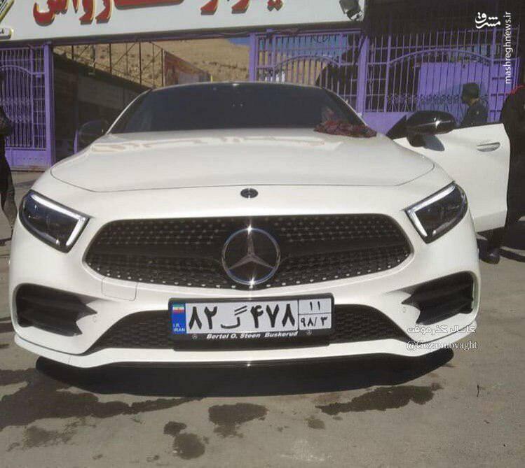 ورود جدیدترین محصول مرسدسبنز به ایران