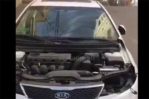 فیلم/ سرقت عجیب قطعات یک خودرو در نیاوران!