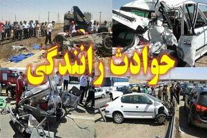 واژگونی وحشتناک تانکر حمل سوخت در جاده رشت