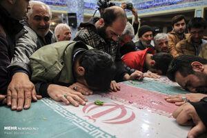 عکس/ تشییع باشکوه شهدای گمنام در تهران