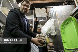 عکس/ بازرسان تعزیرات در رستورانهای برج میلاد