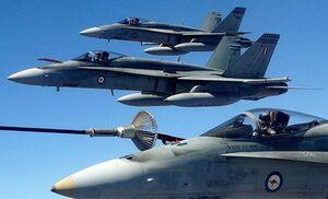 سانحه برای دو جنگنده «اف-18 » نیروی دریایی آمریکا