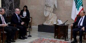 واکنش رئیسجمهور لبنان به اقدام انگلیس علیه حزبالله