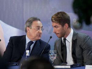 درگیری لفظی شدید فلورنتینو پرس و راموس/کاپیتان تهدید به جدایی کرد!
