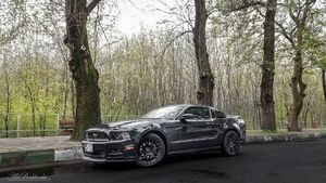 عکس/ خودروی زیبای فورد در انزلی