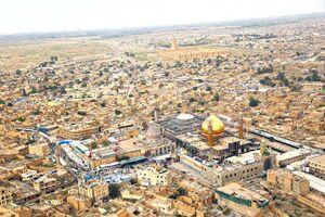 تصویر هوایی از شهر سامرا