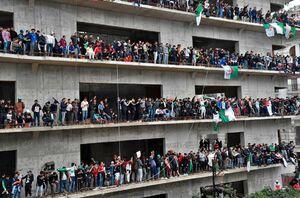 عکس/ ادامه ناآرامیها در خیابانهای الجزایر