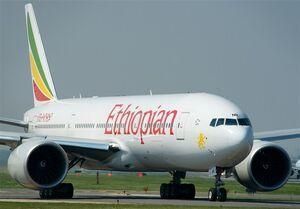 هواپیمای اتیوپی با ۱۵۷ سرنشین سقوط کرد