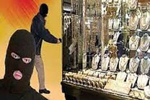 فیلم/ سرقت مسلحانه از طلافروشی در ملارد
