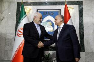عکس/ دیدار ظریف با وزیر خارجه عراق