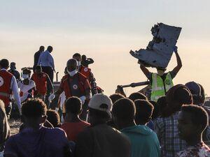 جدیدترین تصاویر از محل سقوط هواپیما در کنیا