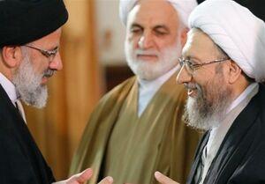 فیلم/ قرائت حکم انتصاب حجت الاسلام رییسی به ریاست قوه قضاییه