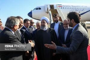 عکس/ ورود روحانی به بغداد
