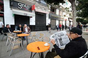 عکس/ اعتصاب سراسری در الجزایر