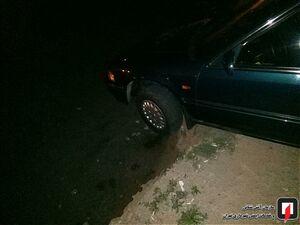 عکس/ نجات خودرو از لبه پرتگاهی در غرب تهران!