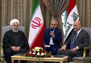 ایران خواستار عراقی امن، مستقل و توسعه یافته است/ استفاده از پولهای ملی ما را از ارزهای خارجی بینیاز میکند