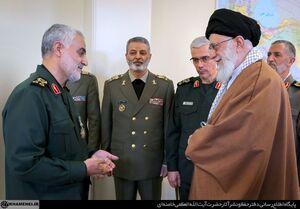 دستور پرواز رهبر انقلاب به سردار سلیمانی +عکس