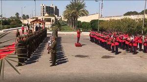 فیلم/ اجرای سرود ملی ایران توسط ارتش عراق