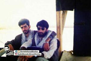 عکس نوستالژیک از شهید احمدی روشن