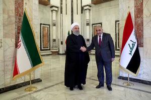 استقبال رسمی عادل عبدالمهدی از رئیس جمهوری اسلامی ایران