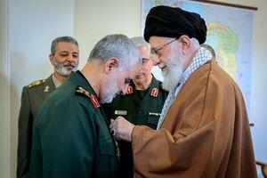 دو مقام نظامی به سرلشکر سلیمانی تبریک گفتند