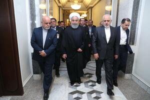 عکس/ دیدار روحانی با رییس مجلس عراق