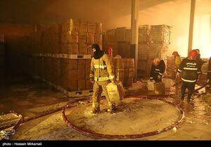 فیلم/ آتشسوزی یک سینما در زاهدان