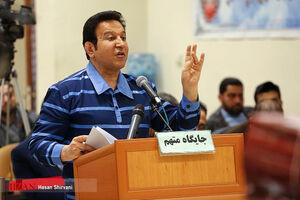 عکس/ چهارمین جلسه دادگاه حسین هدایتی