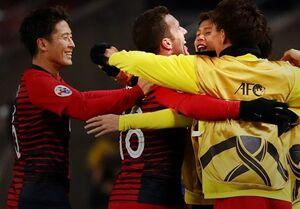 فرار تیم چینی از شکست برابر کاشیما