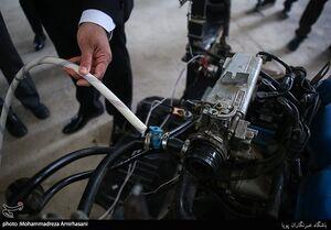 عکس/ رونمایی از موتور خودروی آبسوز در ایران