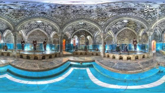 حمام حاج آقا تراب یکی از بناهای تاریخی شهرستان نهاوند است .   این حمام در سال ۱۲۳۰ و در زمان ناصرالدین شاه قاجار بنا نهاده شده است که در سال ۱۳۵۵ باشماره ۱۴۹۲ به عنوان یکی از آثار ملی ایران به ثبت رسید .