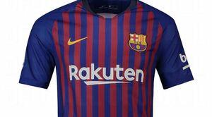 ردخون روی پیراهن بارسلونا +عکس