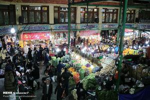 """عکس/ """"بازار تجریش"""" در آستانه سال نو"""